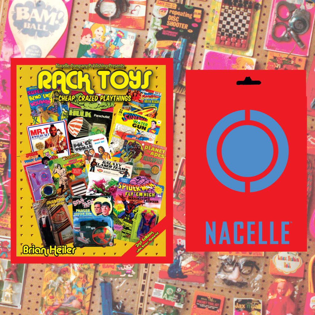 Rack Toys the book from Nacelle Publishing